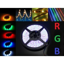 TAŚMA RGB 300 LED (ZMIANA KOLORÓW) WODOODPORNA IP65 - 5M