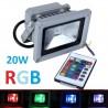 Reflektor - naświetlacz LED RGB 10W + pilot