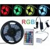 ZESTAW - taśma RGB 150 LED wodoodporna + kontroler + pilot + zasilacz