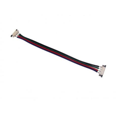 Złączka podwójna do taśm LED RGB z kablem