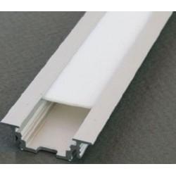 Profil aluminiowy wpuszczany prosty