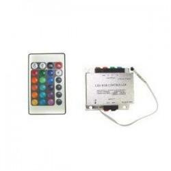 Kontroler RGB 216W (3 x 6A) z pilotem na podczerwień