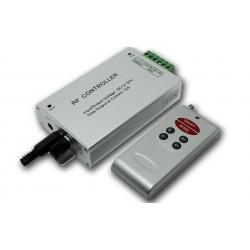 Kontroler RGB sterowany dźwiękiem oraz pilotem radiowym