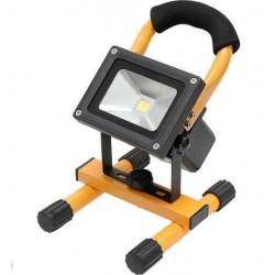 Reflektor - naświetlacz LED 10W z akumulatorem