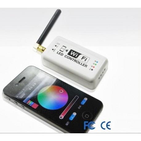 Kontroler RGB 144W (3 x 4A) radiowy WIFI