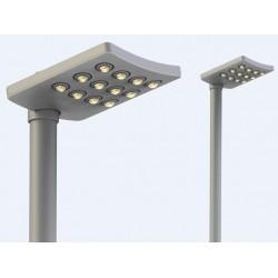 O-style nowoczesna latarnia uliczna LED