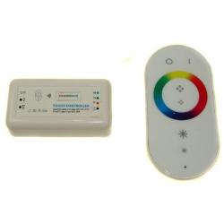 Kontroler RGB 144W (3 x 4A) z pilotem IR